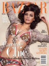 Dia Mirza on Harper's Bazaar