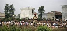 Factory building collapses in Jalandhar.