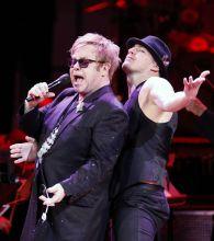 Elton John and Channing Tatum