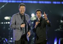 Blake Shelton and Lionel Richie