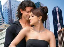 Priyanka Chopra and Hrithik Roshan in a still from Krrish
