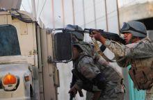 Series of attacks in Kabul