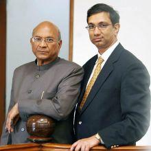 Mahendra Mohan (left) and Sanjay Gupta