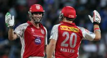 David Miller and Shaun Marsh