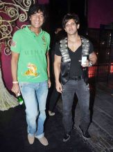 Chunky Pandey and Yash Birla