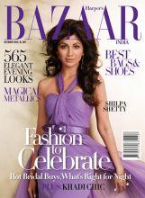 Shilpa Shetty on Harper's Bazaar