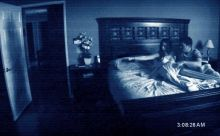 A still from Paranormal Activity