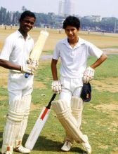 Some of the people who have played a key role in shaping Sachin Tendulkar's career