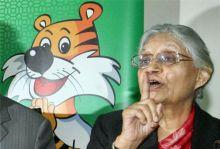 Delhi CM Sheila Dikshit