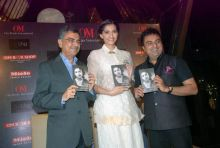 Khalid Mohamed, Sonam Kapoor and Ajay Mago