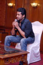 Suriya addressing media