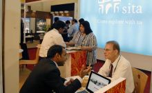 Meeting taking place at Great Indian Travel Bazaar 2012