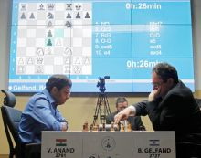 Viswanathan Anand, Boris Gelfand
