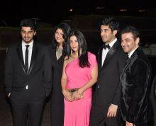 Arjun Kapoor and Sanjay Kapoor