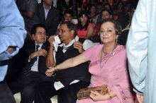 Dilip Kumar, Subhash Ghai and Saira Banu