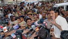 Jaganmohan Reddy addresses media