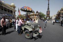 Bharat bandh in Jaipur