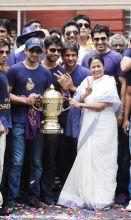 Kolkata Knight Riders and Mamata Banerjee