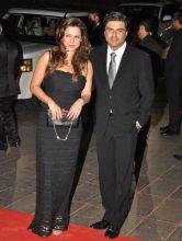 Neelam Kothari and Sameer Soni