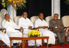 Pranab Mukherjee and others
