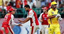 KXIP players and CSK's Murali Vijay