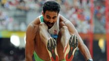 Renjith Maheshwary would be hoping for a good show at the 2012 London Olympic Games