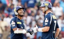 Kumar Sangakkara and Cameron White