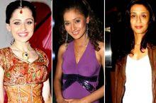 Sara Khan, Achint Kaur and Sanjeeda Sheikh