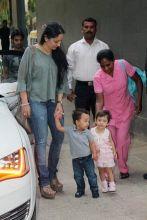 Manyata Dutt with her kids