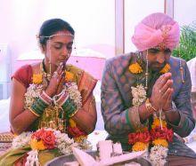 Shveta Salve and Harmeet Sethi