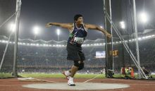 Vikas Gowda would be hoping for a good show at the 2012 London Olympic Games