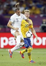 France's Philippe Mexes, Sweden's Olaf Toivonen