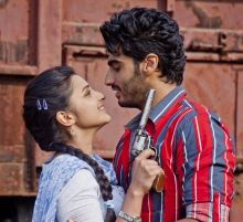 A still from Ishaqzaade