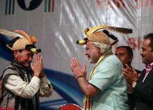 Nabam Atum, Narendra Modi