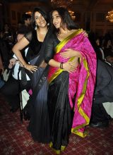 Ekta Kapoor and Vidya Balan