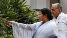Mamata Banerjee and Mulayam Singh Yadav