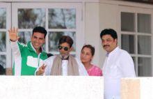 Akshay Kumar, Rajesh Khanna and Dimple Kapadia