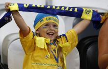 A young Ukraine