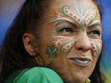 An Irish fan