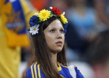 A Ukrainian fan