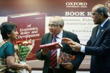 Alakananda Patel, Dr Y.V. Reddy and Duvvuri Subbarao