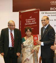 Dr Y.V. Reddy, Alakananda Patel and Duvvuri Subbarao