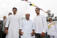 Sachin Pilot, A K Antony and Milind Deora