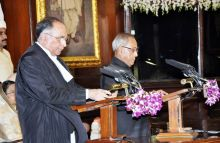 S.H. Kapadia and Pranab Mukherjee