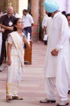 Agatha Sangma and Navjot Singh Sidhu