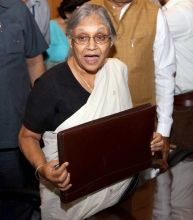 Delhi Chief Minister Shiela Dikshit