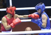 India athletes in action on fifth day of the 2012 London Olympics