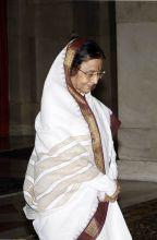 Former president Pratibha Patil