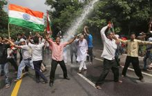 Supporters of India Against Corruption