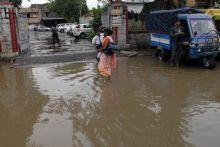 Heavy rainfall in Jaipur